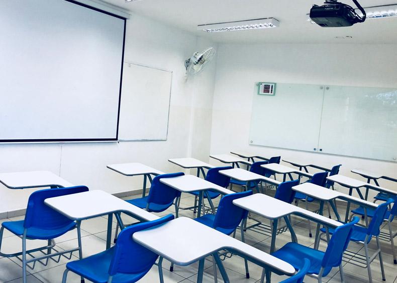 Sala de aula Ensino Fundamental